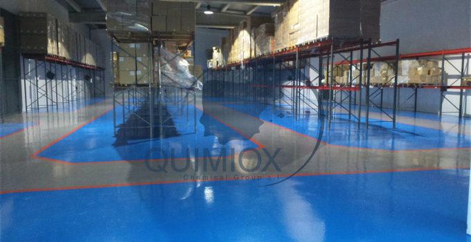 Pavimentos continuos todo sobre pavimentos industriales - Pintura epoxi suelos ...